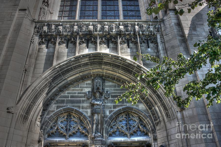 University Of Chicago Photograph - University Of Chicago Chapel by David Bearden