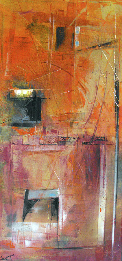 Abstract Painting - Unknown Excavation by Ralph Levesque