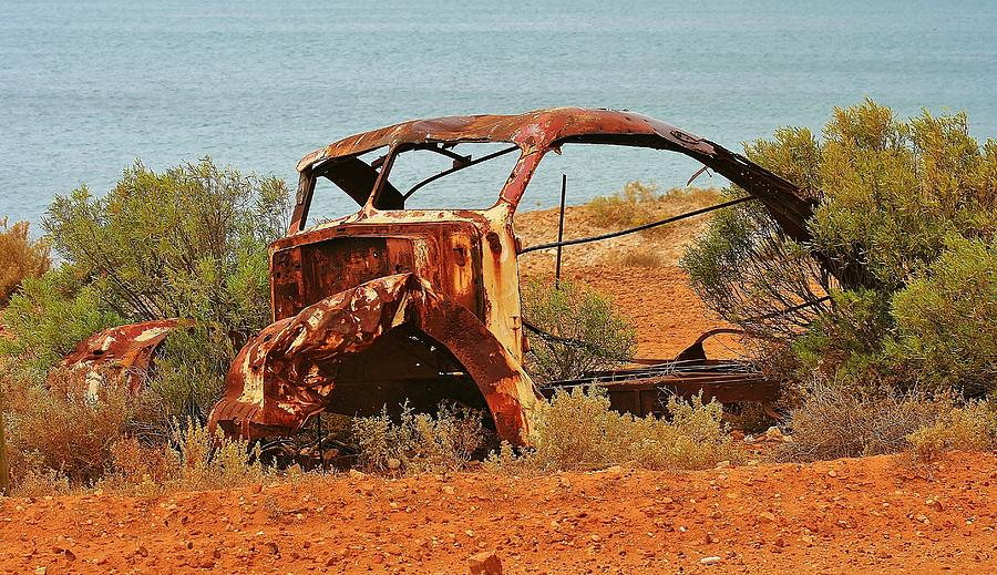 Australian Landscape Photograph - Unloved by David Barringhaus