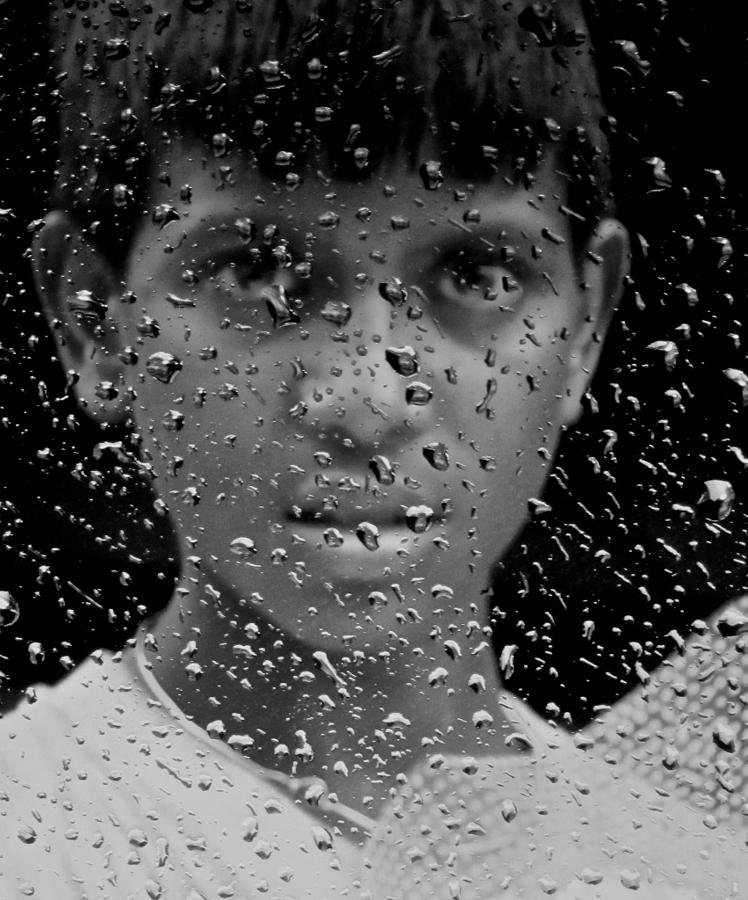 Rains Photograph - Unshed Tears Of A Burdened Childhood by Jyotsna Chandra