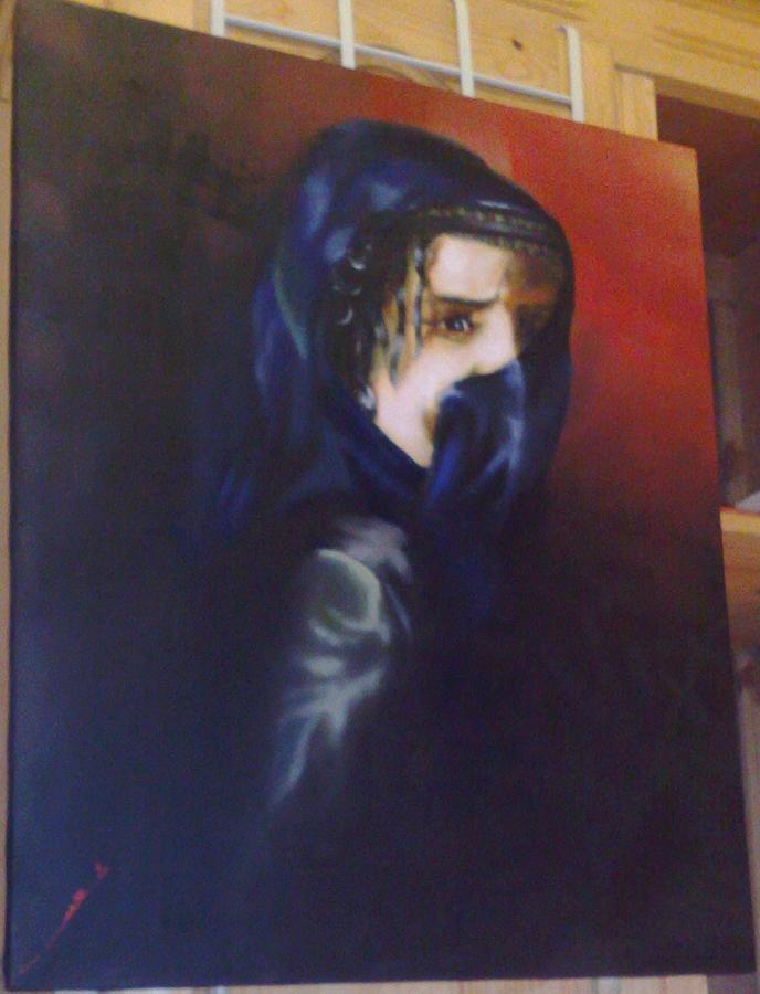 Portrait Painting - Untiteld by Cheaib Barki