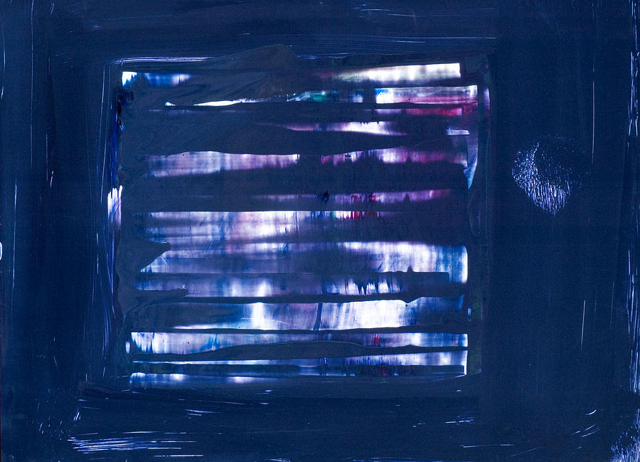 Purple Painting - Untitled # 34 by Kongtrul Jigme Namgyel