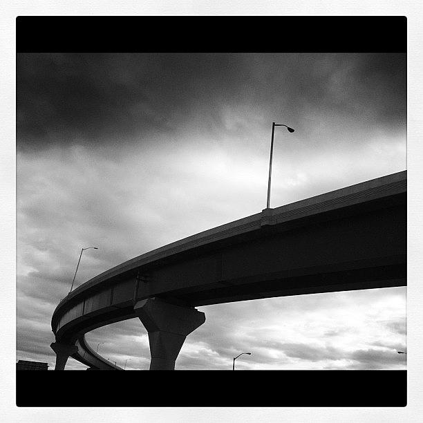 New Haven Photograph - Untitled #10-overpass by Lisa Nichols