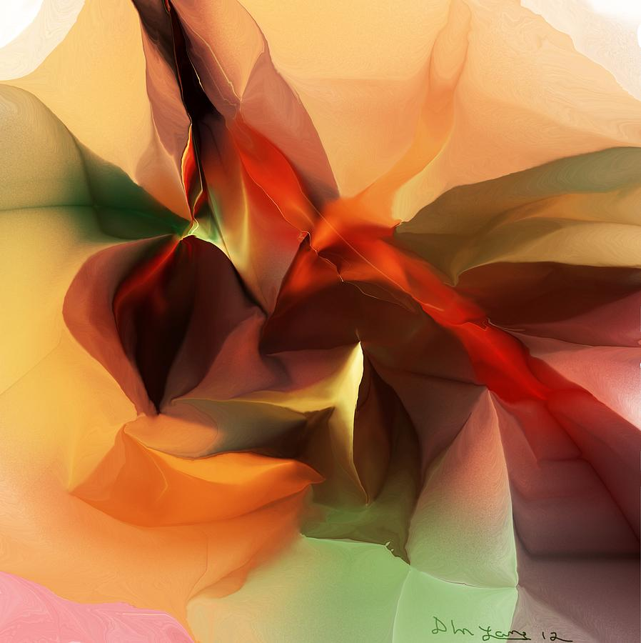 Abstract Digital Art - Untitled 100612 by David Lane