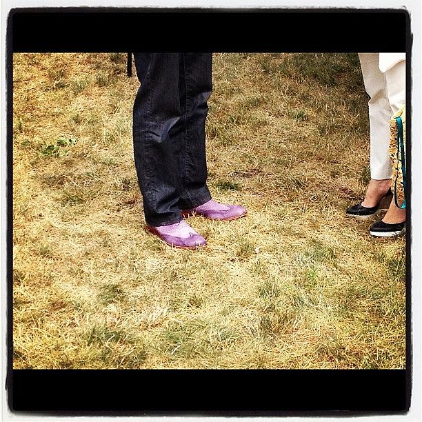 Boots Photograph - Untitled #13-purple Cowboy Boots by Lisa Nichols