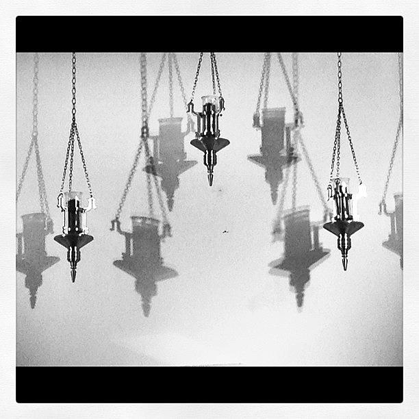 Church Photograph - Untitled #5-lanterns by Lisa Nichols