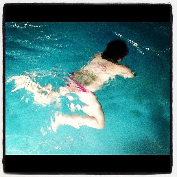 Swimming Photograph - Untitled #6-pool by Lisa Nichols