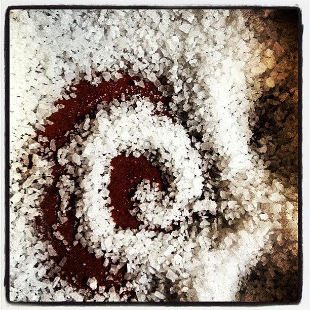 Salt Photograph - Untitled #6-Salt by Lisa Nichols