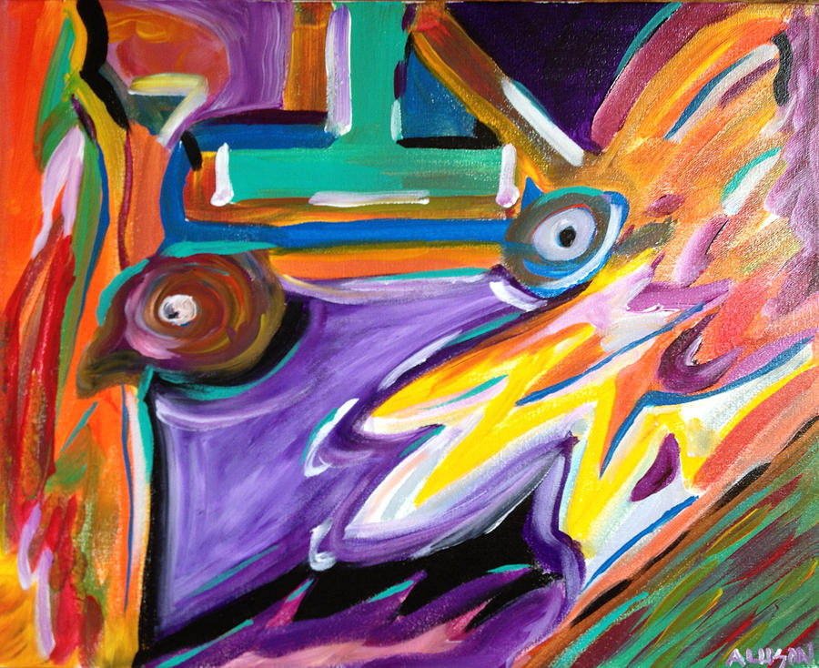 Colors Painting - Untitled 6 by Tony Allison