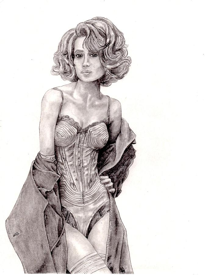 Untitled Drawing - Untitled by Blake Grigorian