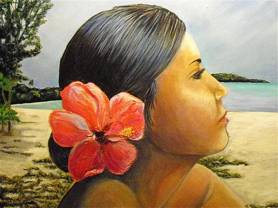Puerto Rico Painting - Untitled by Melissa Torres