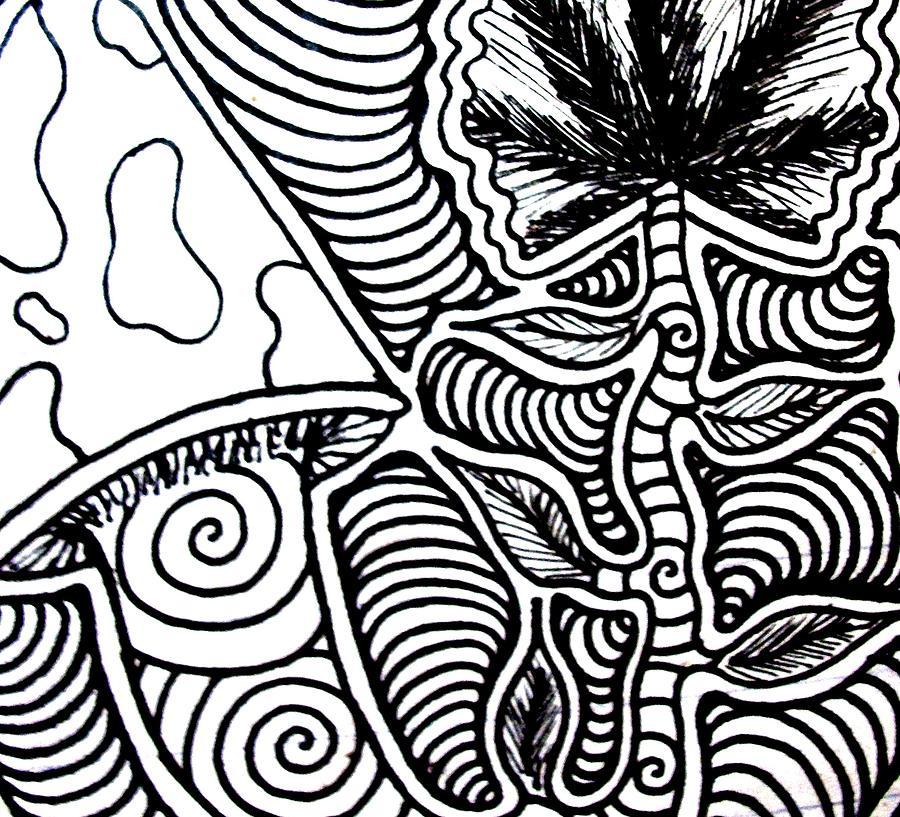 Up Close Drawing by Andrew Padula