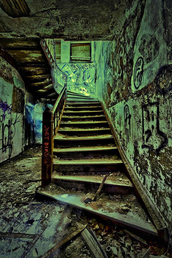 Staten Island Hospital Photograph - Up by Dmitriy Mirochnik