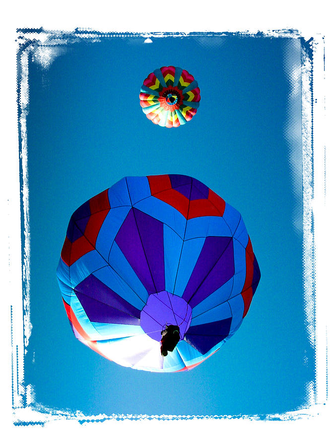 Sky Photograph - Up Up And Away by Mike Martin