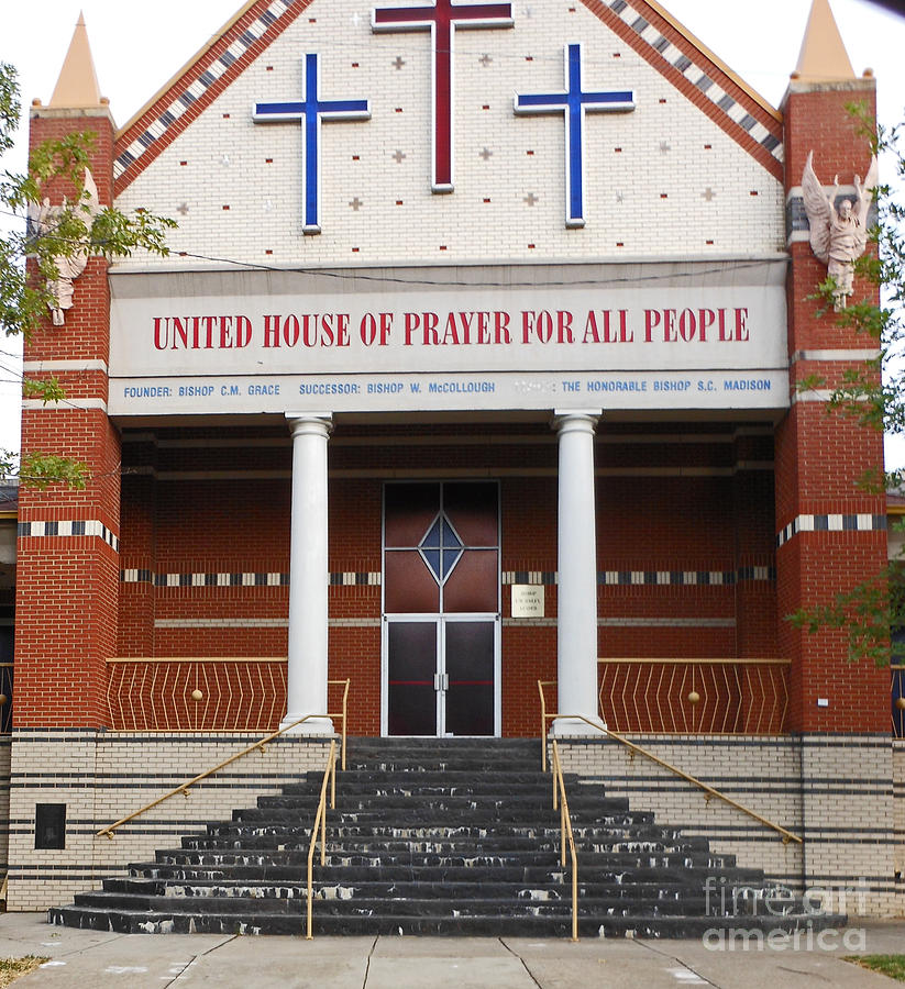 Church Photograph - Uptown Church by Beebe  Barksdale-Bruner