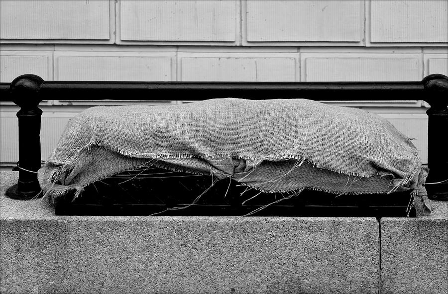 Still Life Photograph - Urban Sarcophagus by Robert Ullmann