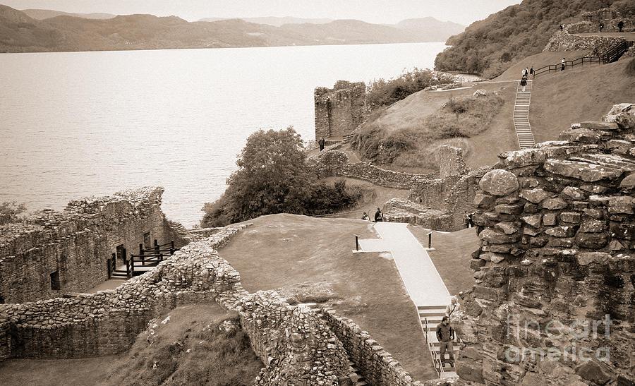 Urquhart Castle Photograph - Urquhart Castle Ages by Chuck Kuhn