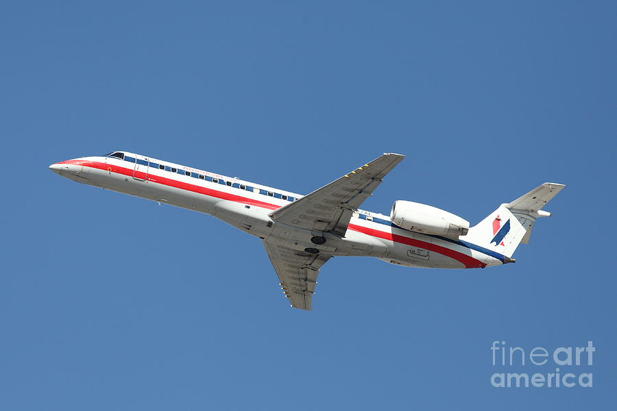 Airplane Photograph - Us Airways Jet Airplane  - 5d18405 by Wingsdomain Art and Photography