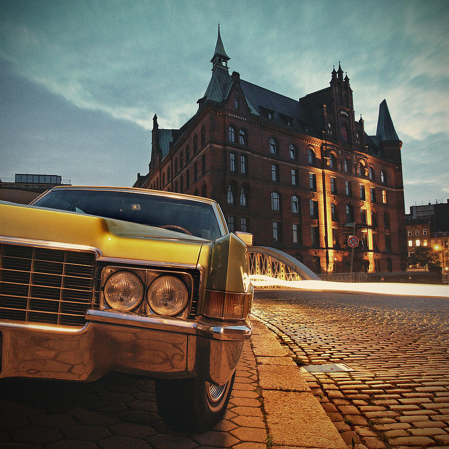 Car Photograph - Us Car by Nina Papiorek