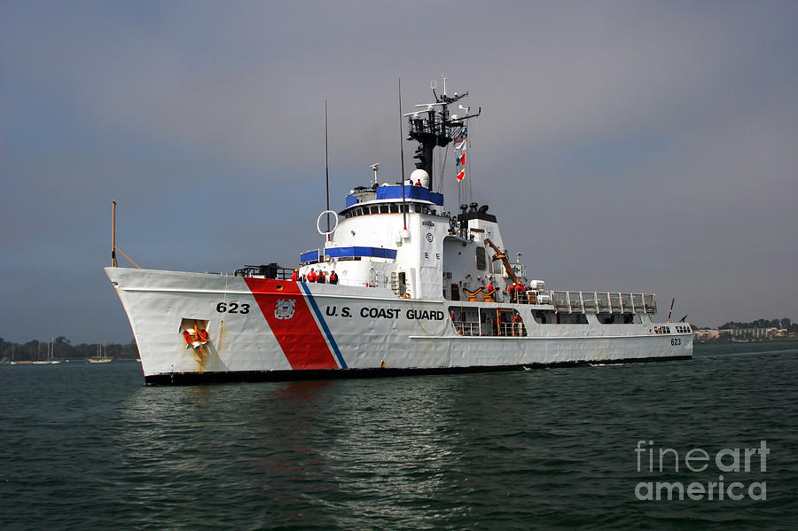 U S Coast Guard Cutter Steadfast Photograph By Michael Wood
