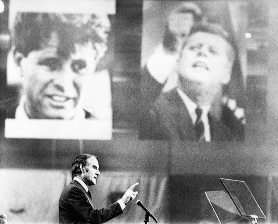 1970s Photograph - Us Elections. Us Senator George by Everett
