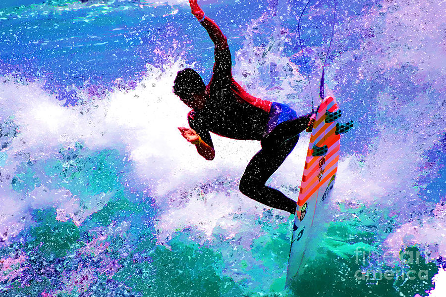 Us Open Of Surfing 2012 Photograph by RJ Aguilar