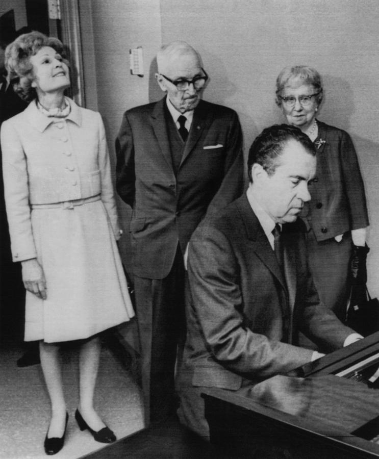 1970s Photograph - Us Presidents.  Us President Richard by Everett
