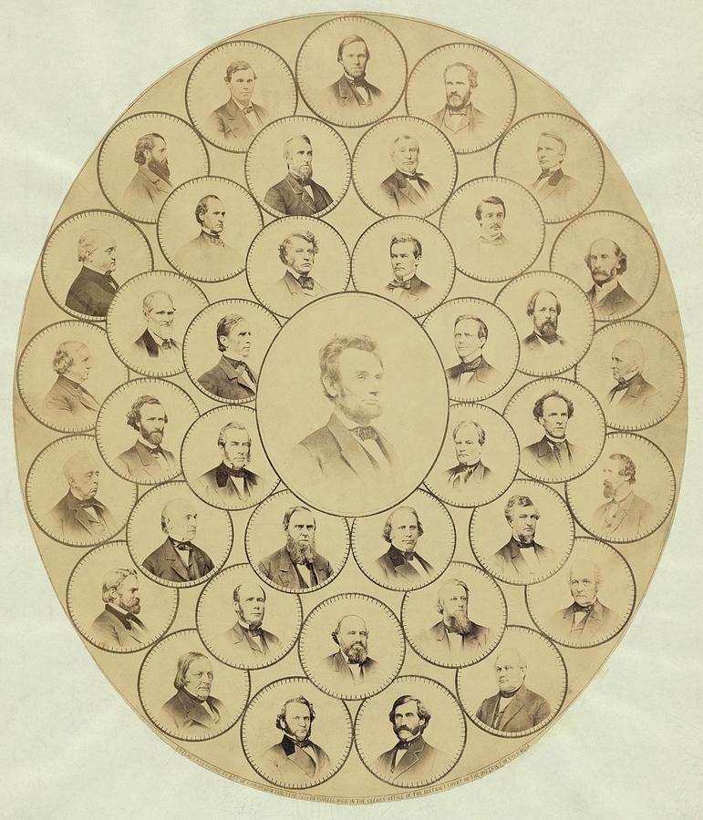 History Photograph - U.s. Senators Who Voted Aye On The 13th by Everett