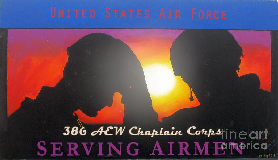 Us Air Force Photograph - USAF - Chaplain Corps by Unknown