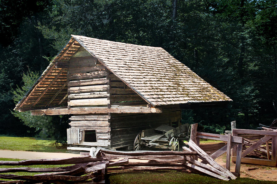 Cades Cove Photograph - Utility And Strength by Barry Jones