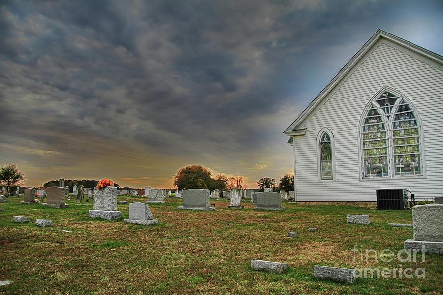 V- Church Photograph by John Pensis