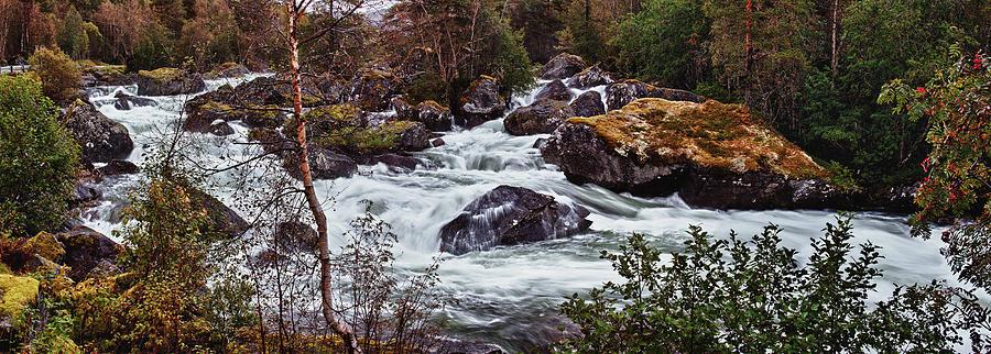 Landscape Photograph - Valdolla River by A A