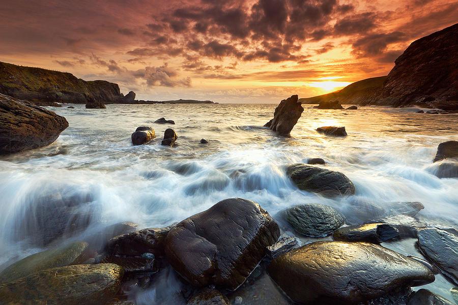 Kerry Photograph - Valencia Island by Brendan O Neill