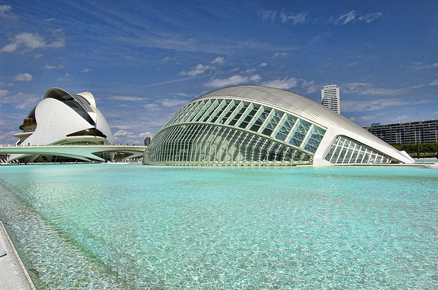 Framed Pyrography - Valencia Spain by Mauro Celotti