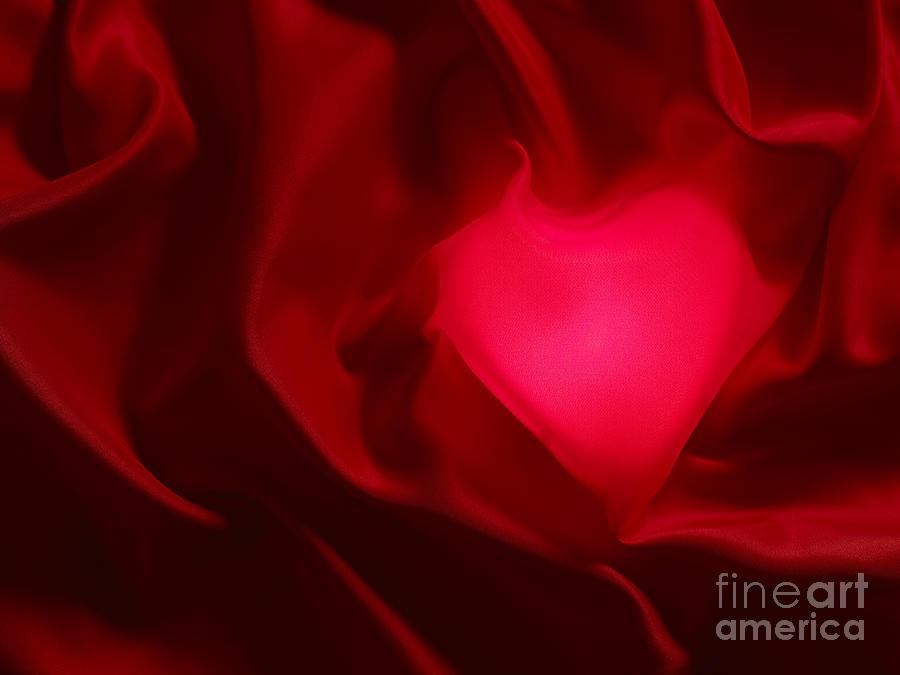 Valentine Photograph - Valentine Heart by Tony Cordoza