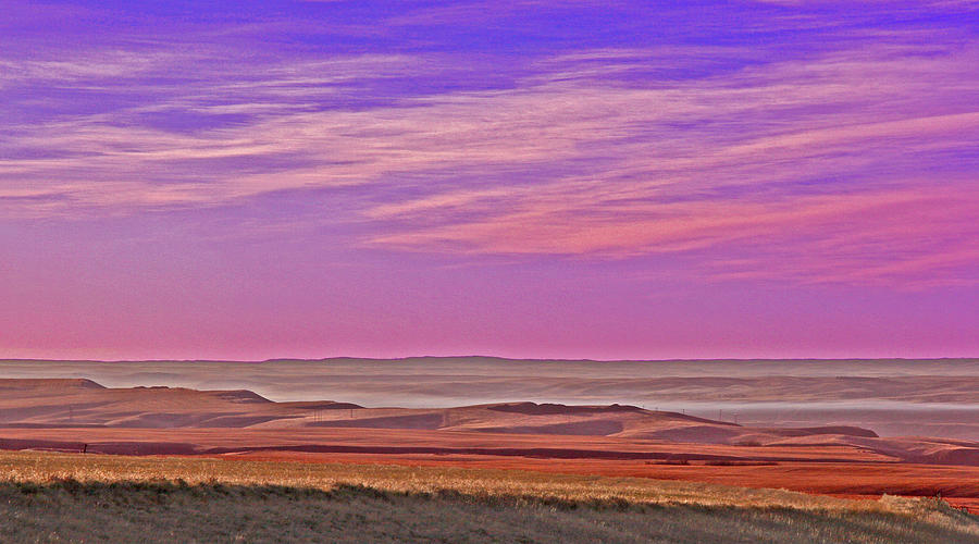 Landscape Photograph - Valley Glow by Jim Justinick