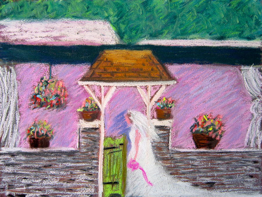 Bride Painting - Valley Green Bride by Marita McVeigh