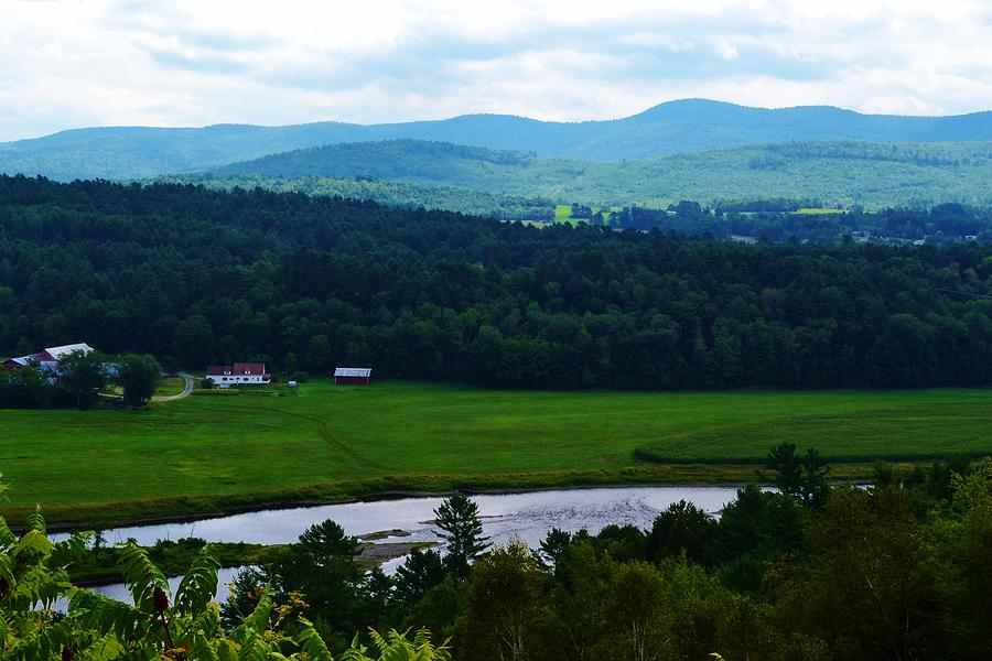 Valley Photograph - Valley Maine by Josee Dube