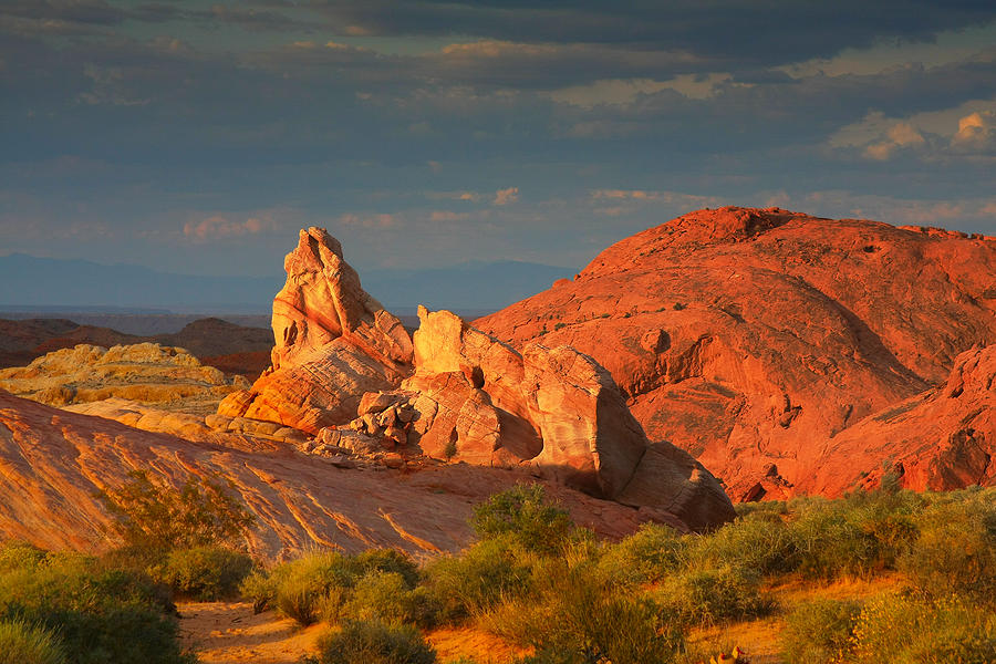 Nevada Photograph - Valley Of Fire - Picturesque Desert by Christine Till