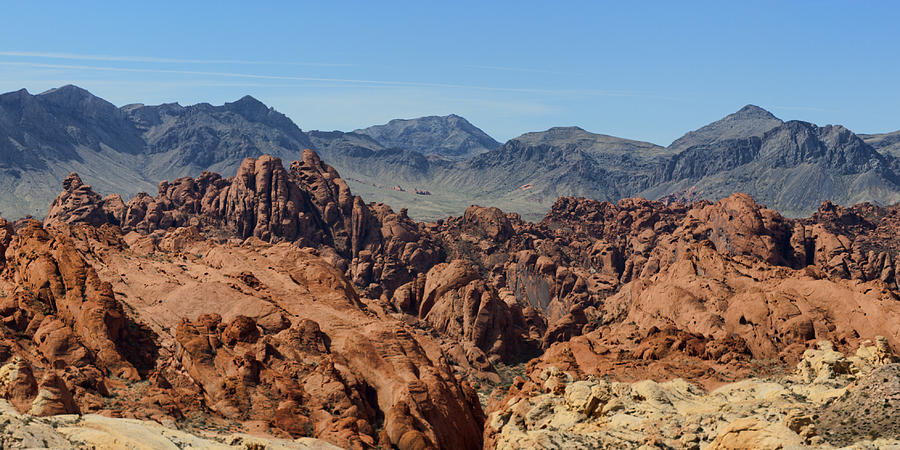 12x24 Photograph - Valley Of Fire 2 Of 4 by Gregory Scott