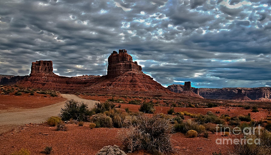 Southern Utah Photograph - Valley Of The Gods II by Robert Bales