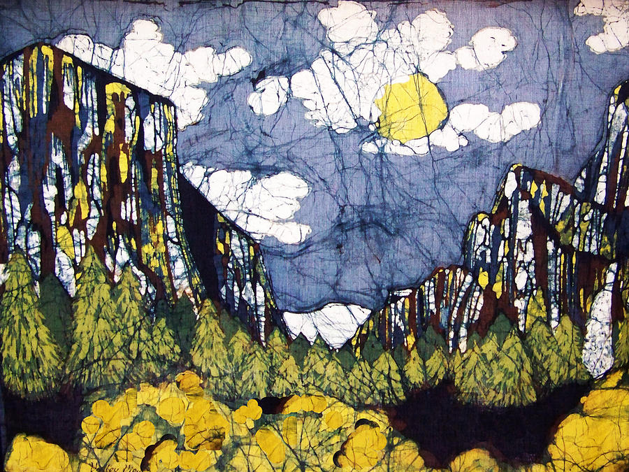 Valley View Tapestry - Textile - Valley View by Alexandra  Sanders