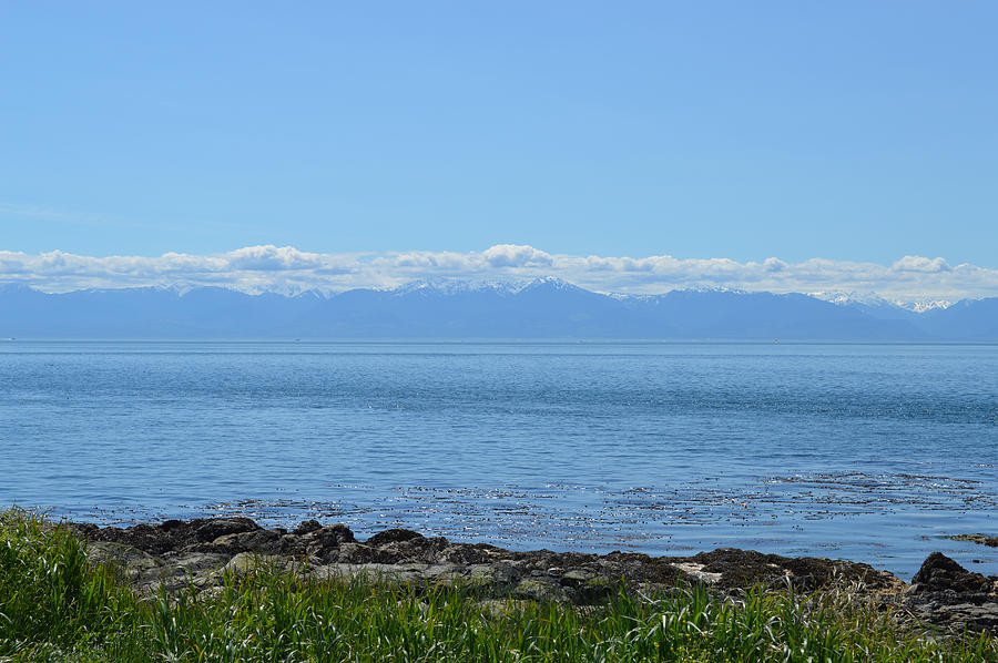 Vancouver Island Photograph - Vancouver Island Shore View by Ann Marie Chaffin