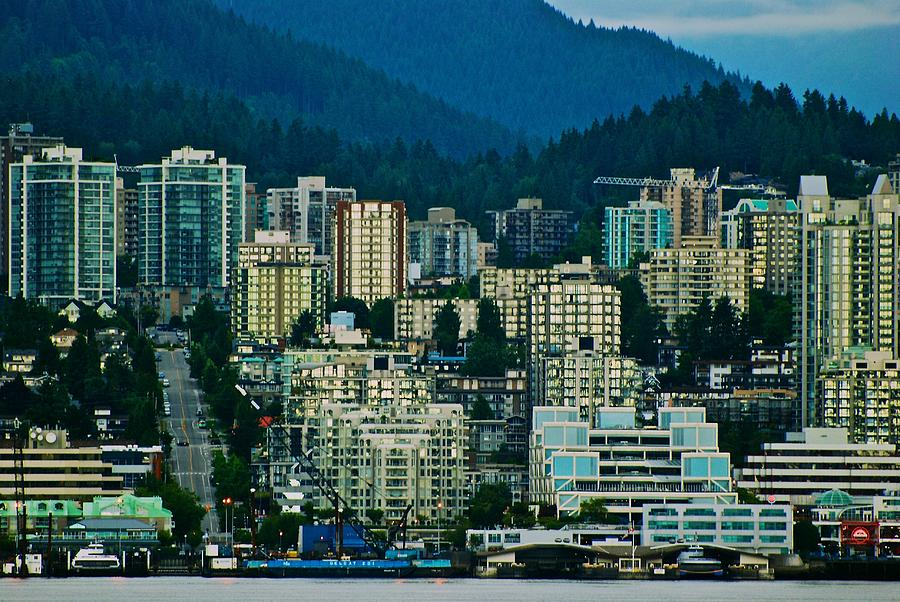 Vancouver Photograph - Vancouver Rooms With A View by Eric Tressler