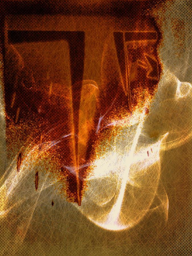 Abstract Digital Art - Variation in tones by Joseph Ferguson