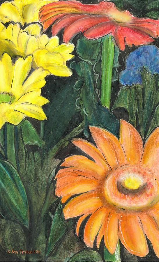 Vasco's Flowers by Ana Tirolese