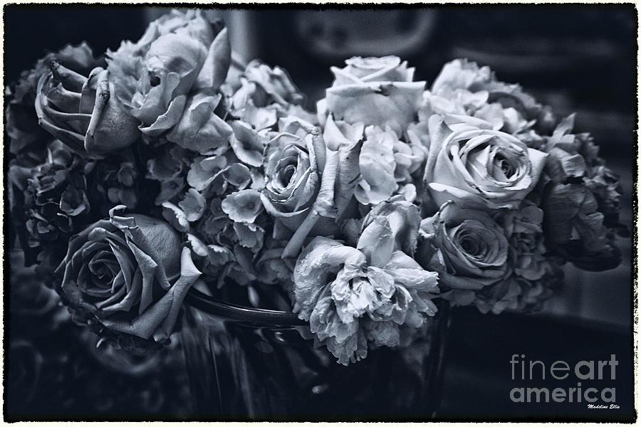 Flowers Photograph - Vase Of Flowers 2 by Madeline Ellis