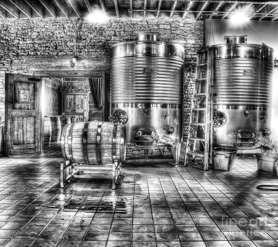 Wine Photograph - Vat To Barrel by Jimmy Ostgard