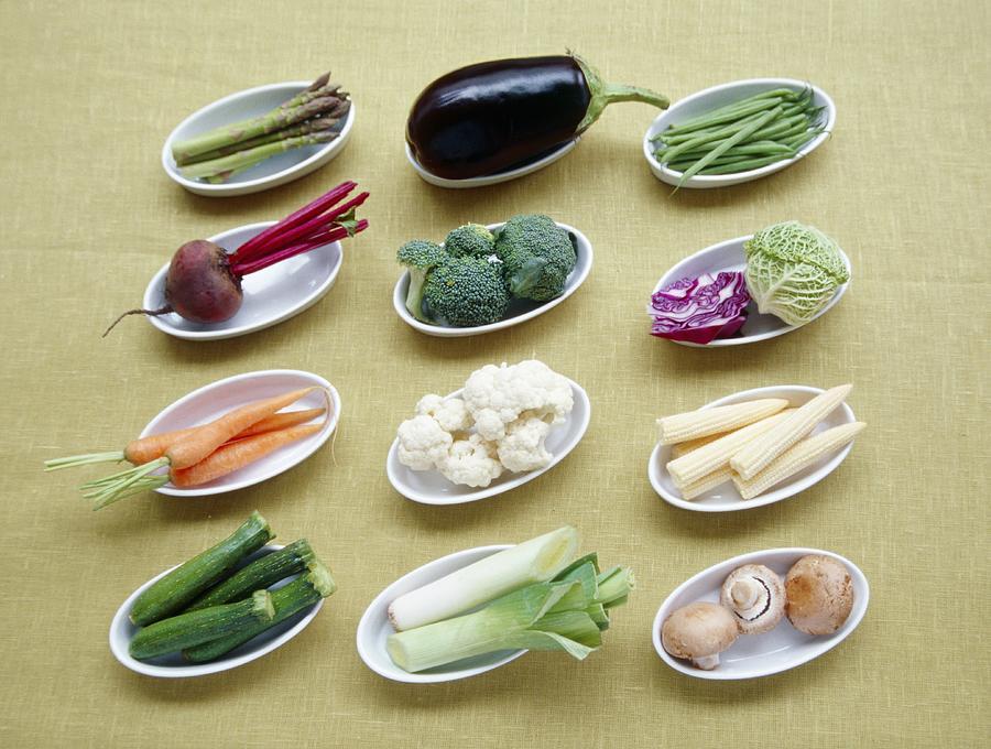 Asparagus Photograph - Vegetables by Veronique Leplat