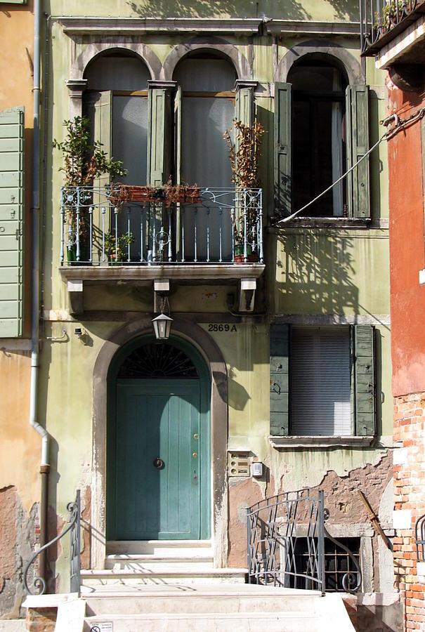 Venice Photograph - Venetian Doorway by Carla Parris